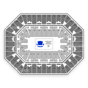 BMO Harris Bradley Center Seating Chart Rodeo