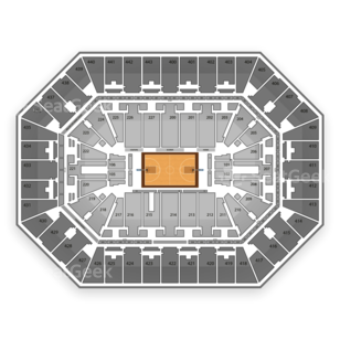 BMO Harris Bradley Center Seating Chart NBA
