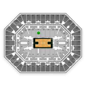 Milwaukee Bucks at BMO Harris Bradley Center Section 227 View