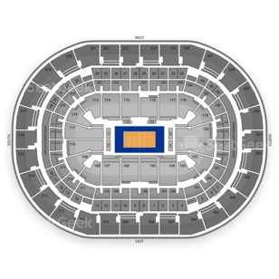 Chesapeake Energy Arena Seating Chart Sports
