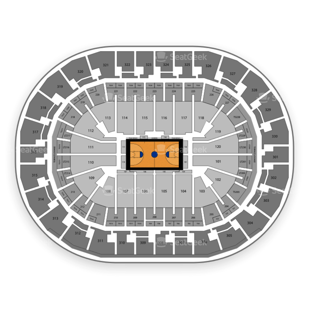 Chesapeake Energy Arena Seating Chart NCAA Womens Basketball