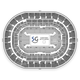 Chesapeake Energy Arena Seating Chart PBR - Professional Bull Riders