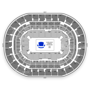 Chesapeake Energy Arena Seating Chart Wwe