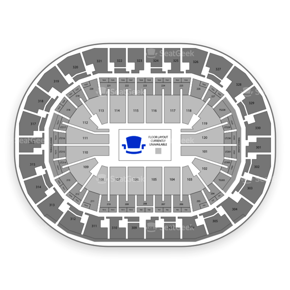 Chesapeake Energy Arena Seating Chart Concert