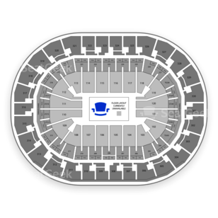 Chesapeake Energy Arena Seating Chart Auto Racing