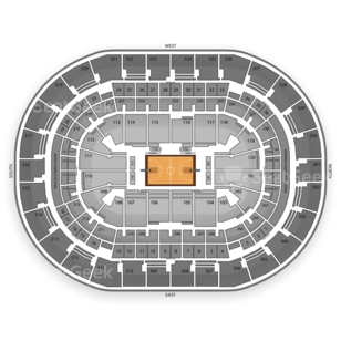 Oklahoma City Thunder Seating Chart