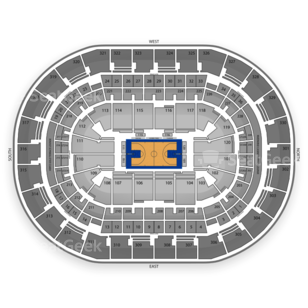 Chesapeake Energy Arena Seating Chart NCAA Basketball