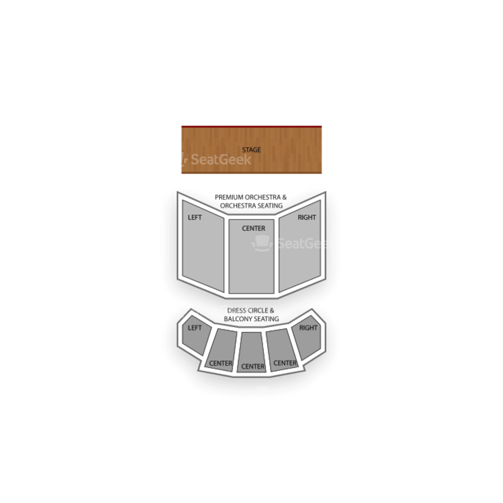 Fords Theatre Seating Chart Broadway Tickets National