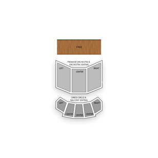 Ford's Theatre Seating Chart Comedy