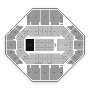 Rupp Arena Seating Chart Theater