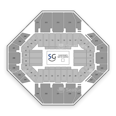 Rupp Arena seating chart Disney On Ice Passport To Adventure Calgary