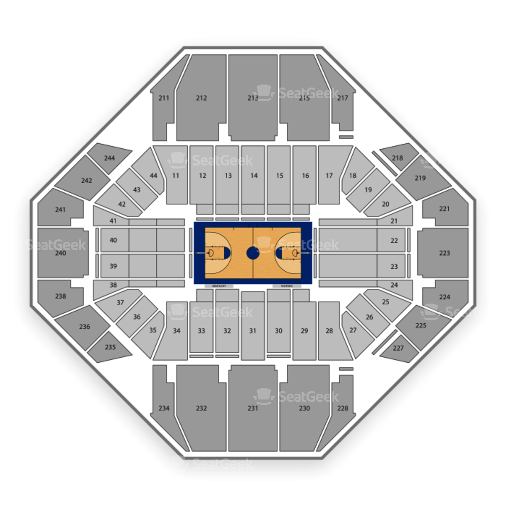 Kentucky Wildcats Basketball Seating Chart