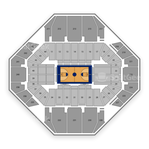Rupp Arena Seating Chart NCAA Basketball