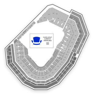 Fenway Park Seating Chart Wwe