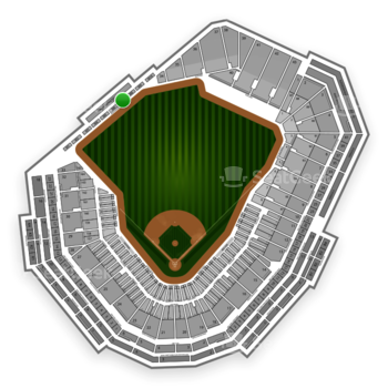Boston Red Sox at Fenway Park Green Monster M 7 View