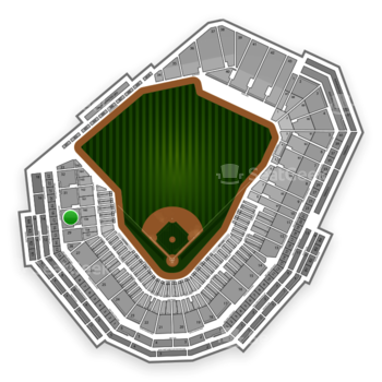 Boston Red Sox at Fenway Park Infield Grandstand 30 View