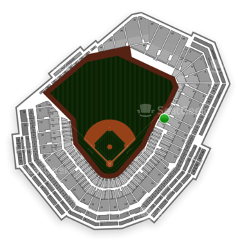 Boston Red Sox at Fenway Park Right Field Box 7 View