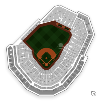 Boston Red Sox at Fenway Park Pc 1 View