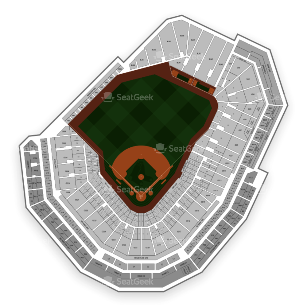 Boston Red Sox Seating Chart