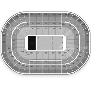 US Bank Arena Seating Chart Concert