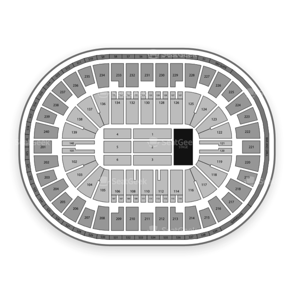 US Bank Arena Seating Chart Classical