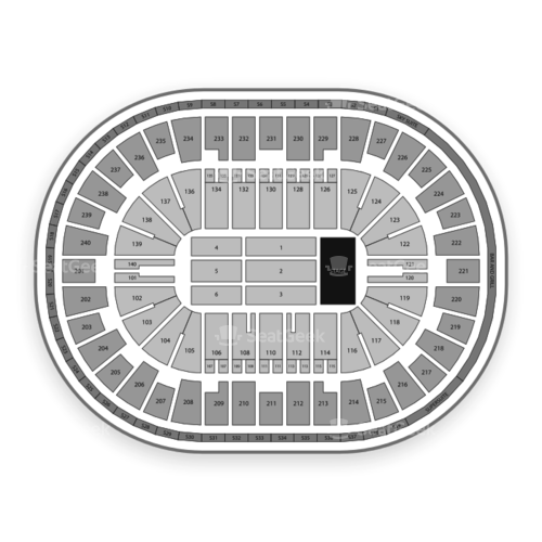 heritage bank center interactive seating chart