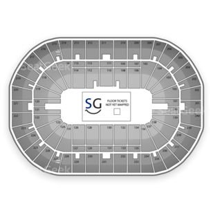 U.S. Bank Arena Seating Chart Comedy