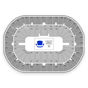 US Bank Arena Seating Chart Olympic Sports