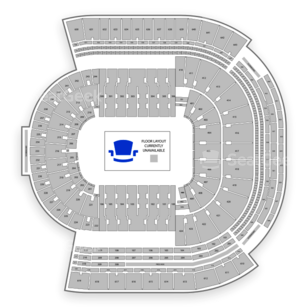 LSU Tiger Stadium Seating Chart Concert