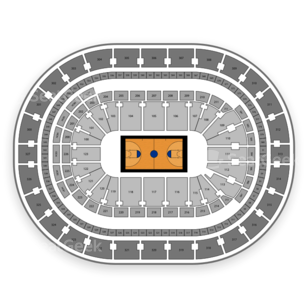 KeyBank Center Seating Chart NCAA Basketball
