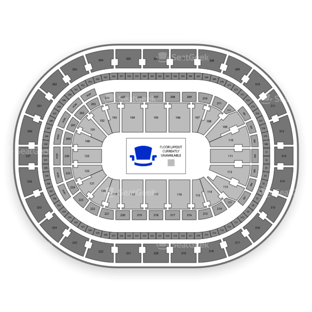 NCAA Mens Frozen Four Seating Chart