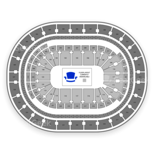 KeyBank Center Seating Chart Family