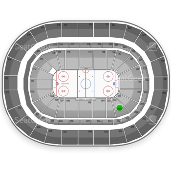 Buffalo Sabres at First Niagara Center Section 102 View