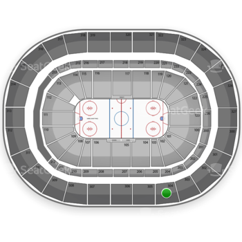 Buffalo Sabres at First Niagara Center Section 304 View