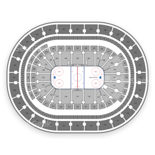 KeyBank Center Seating Chart Hockey