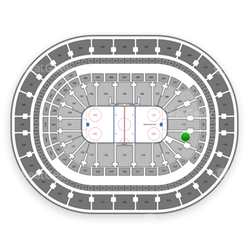 Buffalo Sabres at KeyBank Center Section 112 View