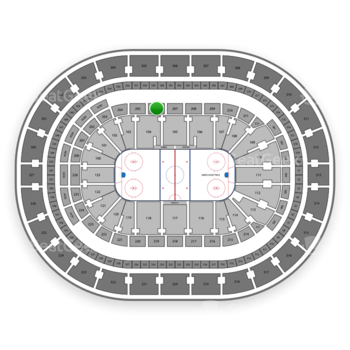 Buffalo Sabres at KeyBank Center Section 206 View