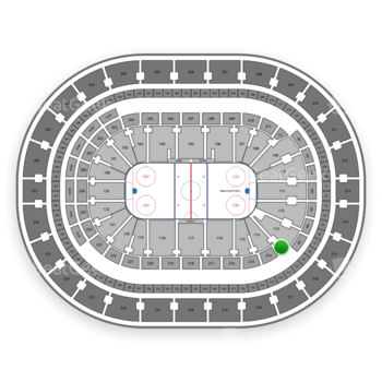 Buffalo Sabres at KeyBank Center Section 213 View