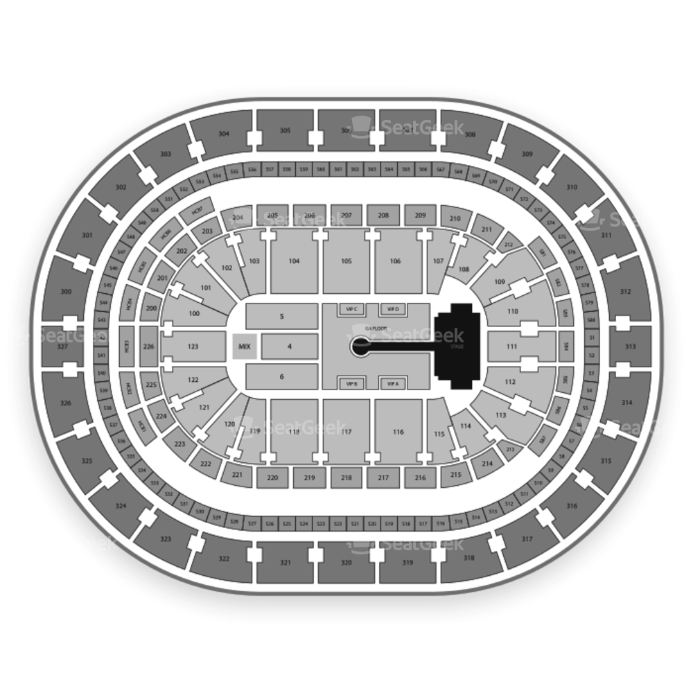 KeyBank Center Seating Chart Concert