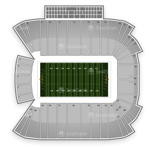 Rice Eccles Stadium Seating Chart