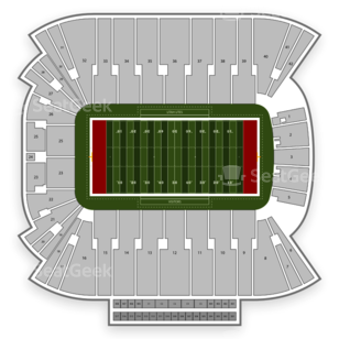 Rice Eccles Stadium Seating Chart Football