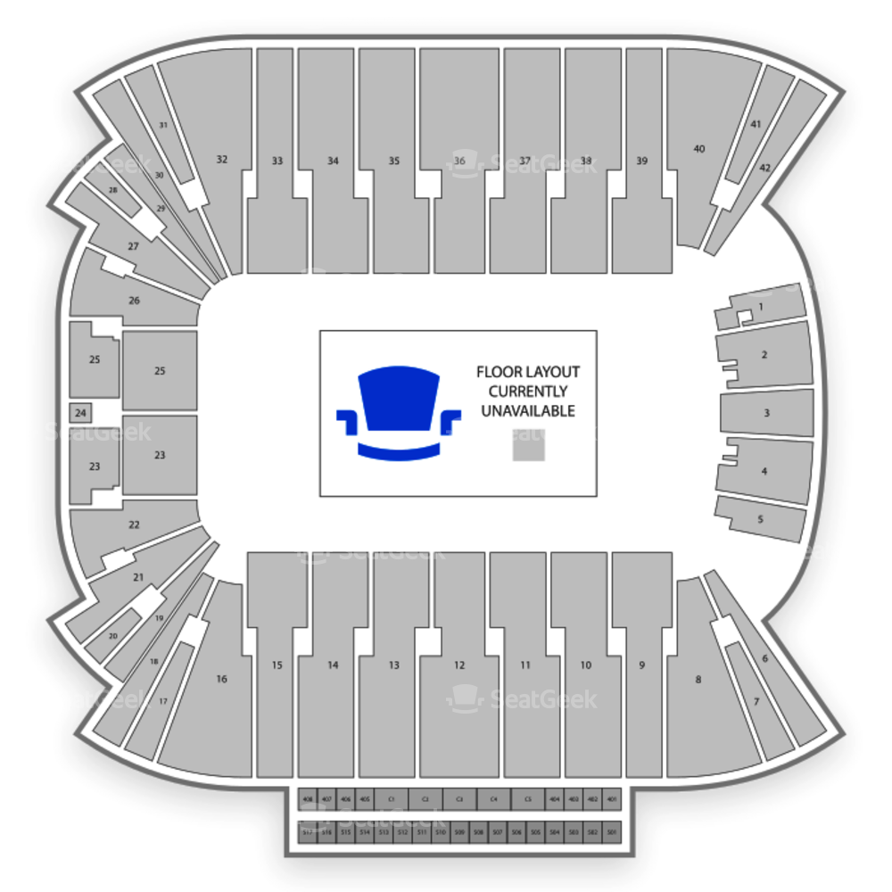 Rice Eccles Stadium Seating Chart Concert