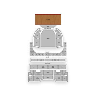 Music Hall Kansas City Seating Chart Dance Performance Tour