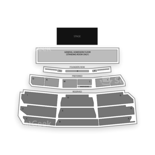 Santa Barbara Bowl Seating Chart Concert
