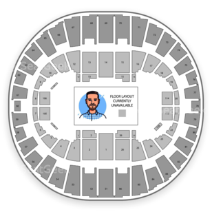 Portland Memorial Coliseum Seating Chart NBA