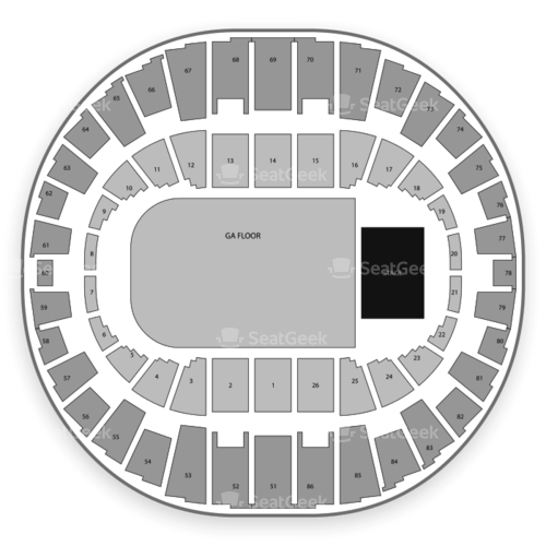 Veterans Memorial Coliseum Seating Chart Concert