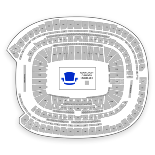 US Bank Stadium Tour Seating Chart