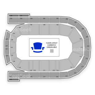 Mohegan Sun Arena at Casey Plaza Seating Chart Theater