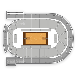 Mohegan Sun Arena at Casey Plaza Seating Chart Family