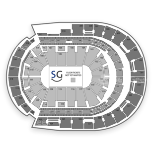 Bridgestone Arena Seating Chart Theater